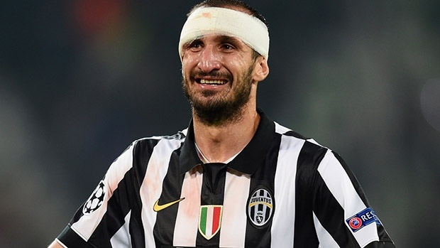 chiellini infortunio